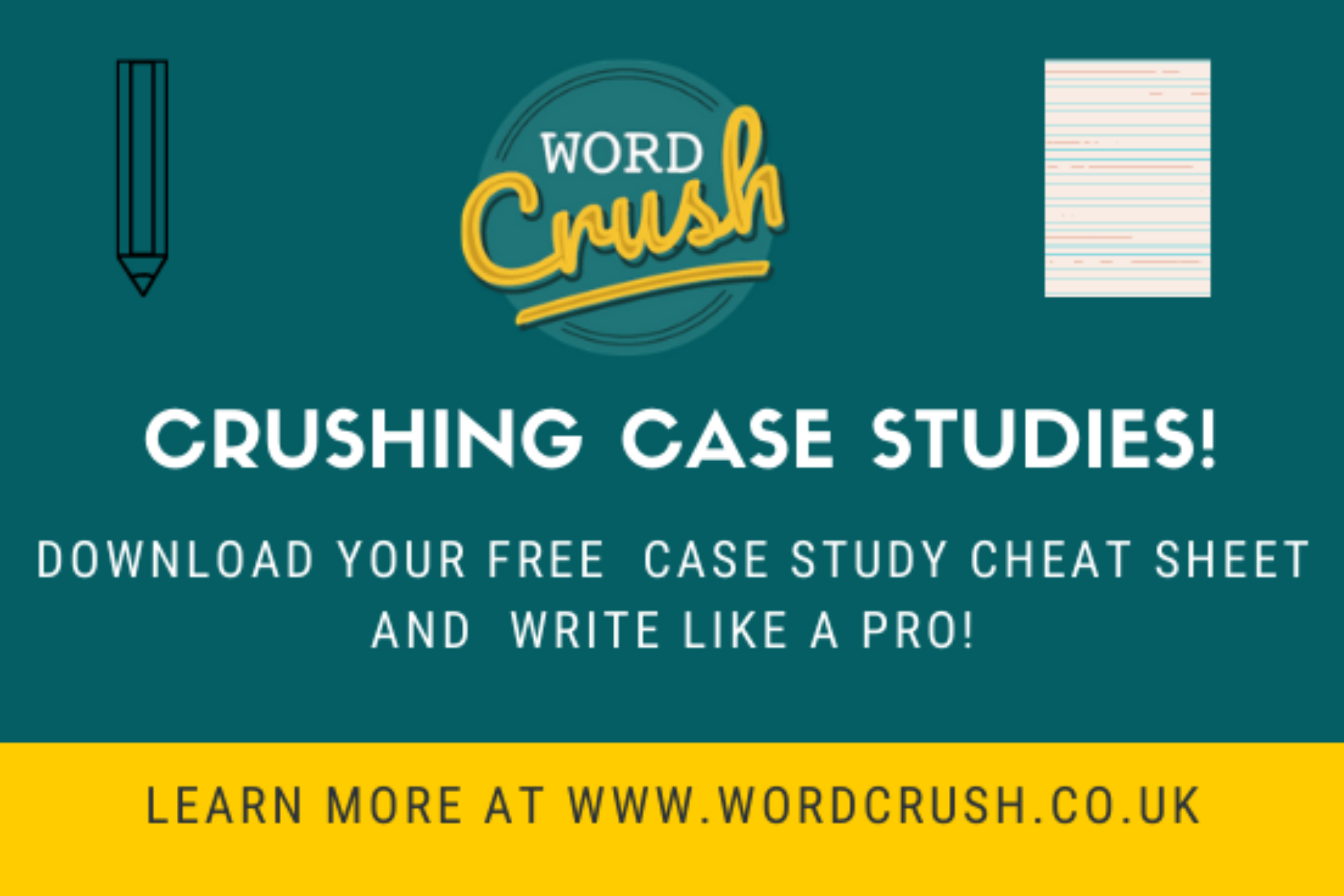 Download your free how to write case studies cheat sheet!